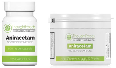 Aniracetam from Thought Foods