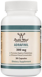 Adrafinil Capsules By Double Wood Supplements