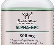 Alpha GPC Capsules By Double Wood Supplements