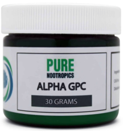 Alpha GPC Powder By Pure Nootropics