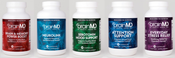 BrainMD Health Supplements