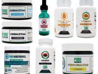 Pure Nootropics Supplements Selection
