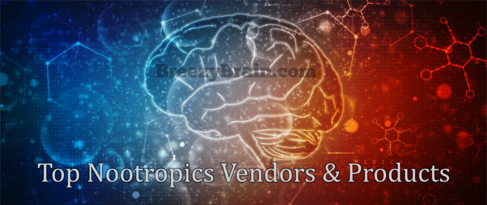 Top Nootropics Vendors & Products