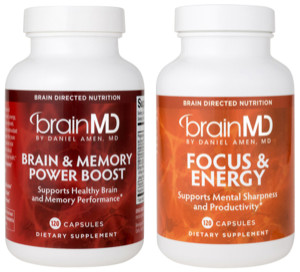 BrainMD Memory & Brain Power Supplement